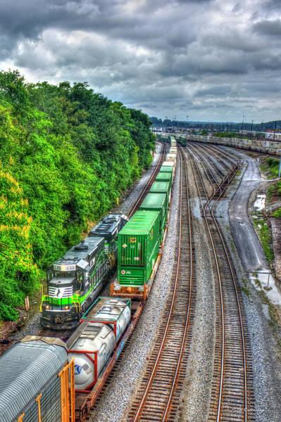 Norfolk Southern Wall Art - Photograph - Norfolk Southern Locomotive 648 Atlanta Train Art by Reid Callaway