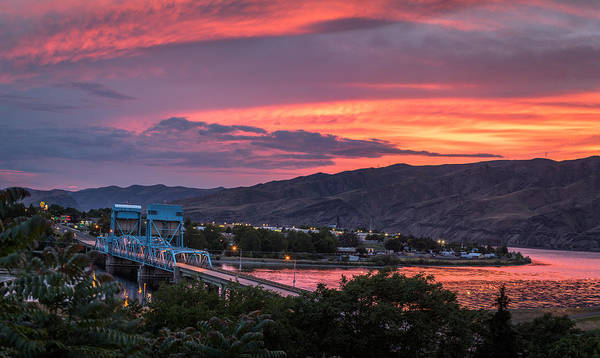Lewiston Photograph - Normal Hill Sunset by Brad Stinson