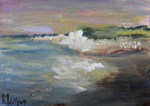 Painting - Normandy Coast by Michael Helfen