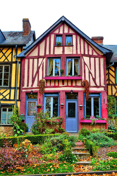 Photograph - Normandy Dollhouse by Olivier Le Queinec
