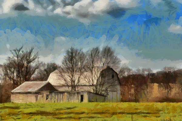 Mixed Media - Norman's Homestead by Trish Tritz