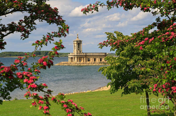 Rutland Photograph - Normanton Church Rutland Water In Late Spring by Louise Heusinkveld