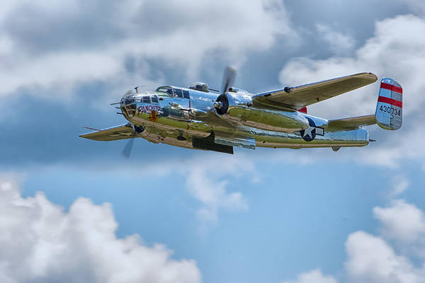 Photograph - North American B-25 Mitchell by Richard Kopchock