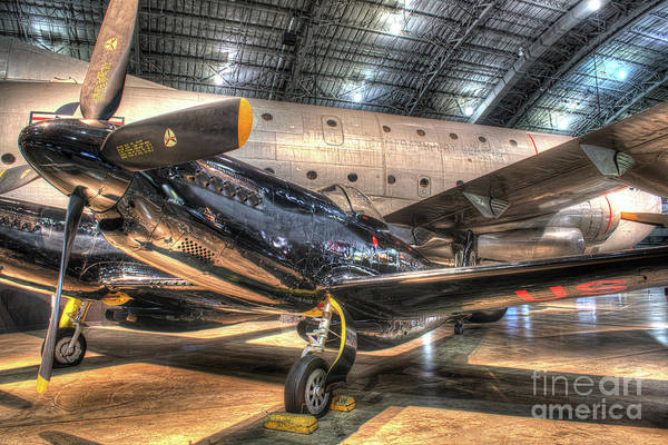 Star Wars 3 Wall Art - Photograph - North American F-82 Twin Mustang by Greg Hager