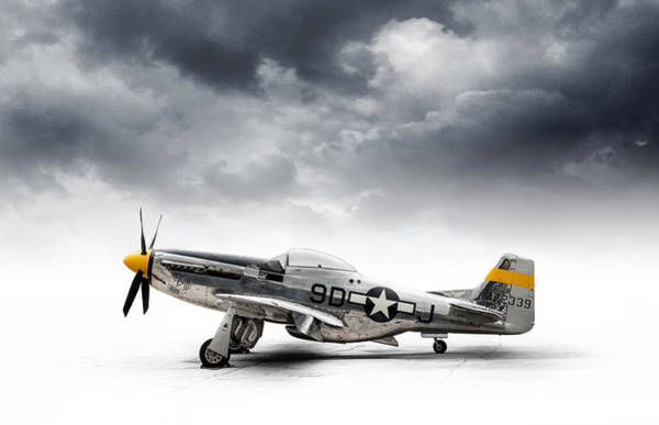 Wall Art - Digital Art - North American P-51 Mustang by Douglas Pittman