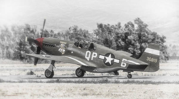 Photograph - North American P-51b Mustang by Douglas Castleman