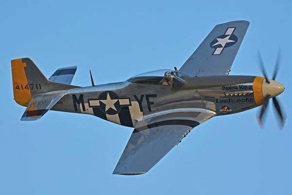 Wall Art - Photograph - North American P-51d Mustang Nl151hr Chino California April 29 2016 by Brian Lockett