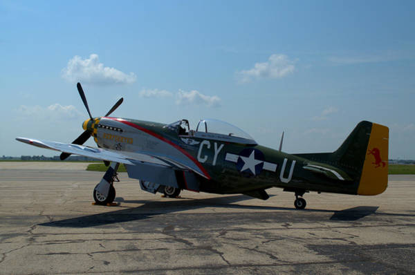 Photograph - North American P51 Mustang Gunfighter by Tim McCullough