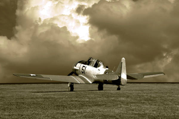Photograph - North American T6 by Tim McCullough