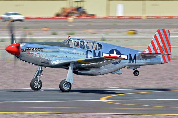 Wall Art - Photograph - North American Tp-51c-10 Mustang Nl251mx Betty Jane Deer Valley Arizona April 13 2016 by Brian Lockett
