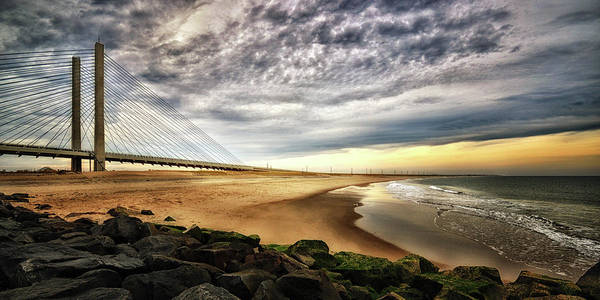 Photograph - North Beach At Indian River Inlet by Bill Swartwout Photography