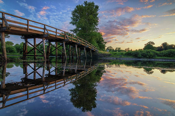 Photograph - North Bridge Reflections by Kristen Wilkinson