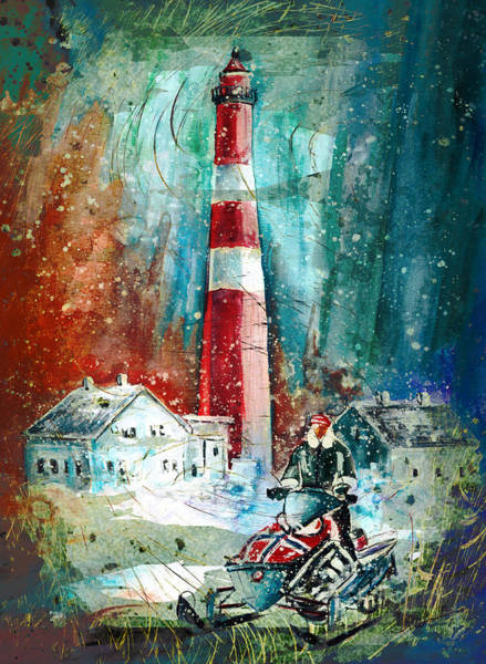 Painting - North Cape Authentic Madness by Miki De Goodaboom