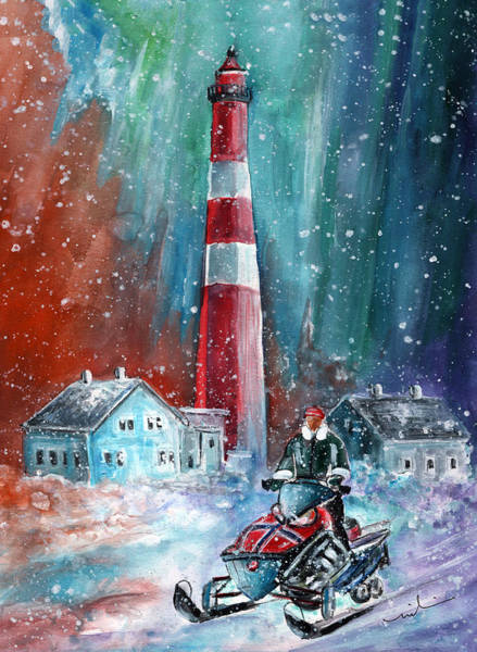Painting - North Cape Authentic by Miki De Goodaboom