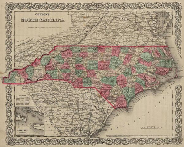 Wall Art - Painting - North Carolina by Colton