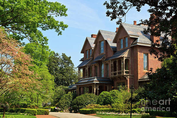 Queen Anne Style Photograph - North Carolina Executive Mansion by Jill Lang