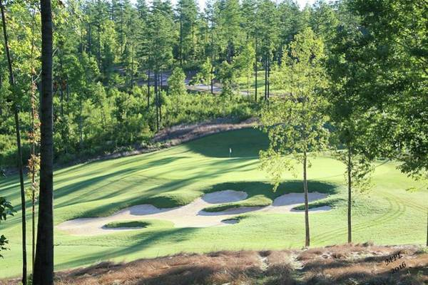 Photograph - North Carolina Golf Course 12th Hole by Marian Palucci-Lonzetta