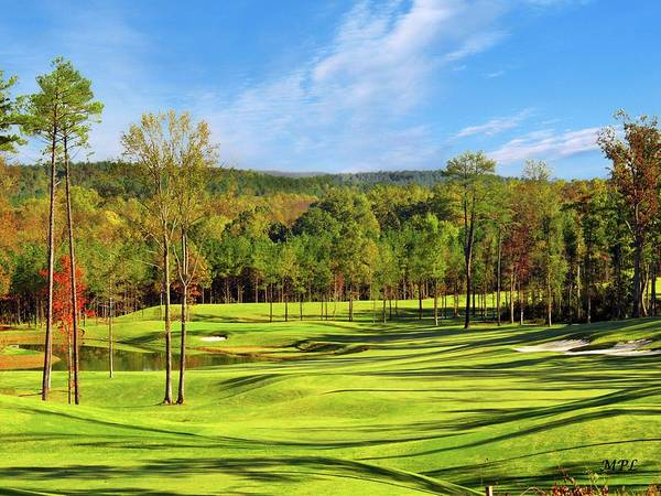 Photograph - North Carolina Golf Course 14th Hole by Marian Palucci-Lonzetta