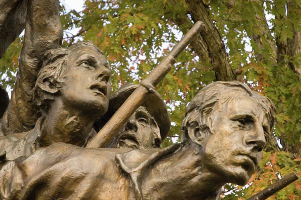 Photograph - North Carolina Monument by Mick Burkey