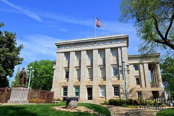 Photograph - North Carolina State Capitol Building by Jill Lang