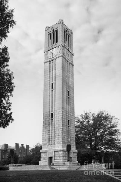 Photograph - North Carolina State Memorial Bell Tower by University Icons