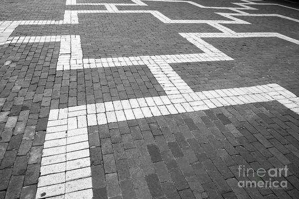 Photograph - North Carolina State The Brickyard by University Icons