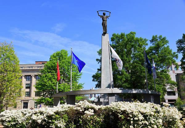 North Carolina Veterans Monument Art Print