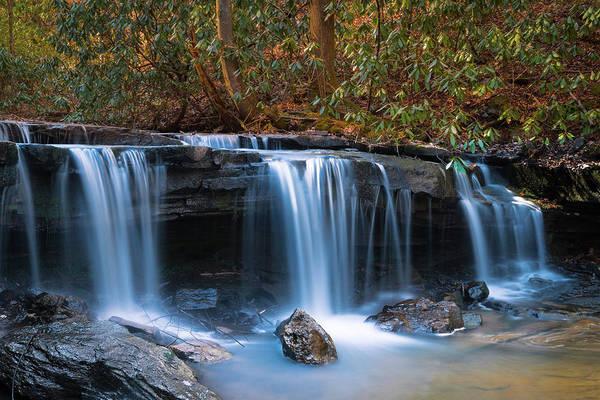 Photograph - North Carolina Waterfall by Ranjay Mitra