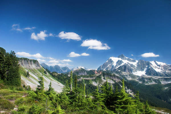 Photograph - North Cascade Mountains by Yulia Kazansky
