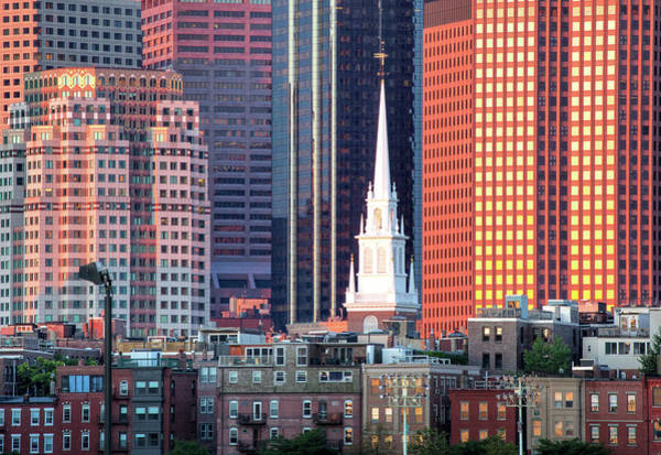 Wall Art - Photograph - North Church Steeple by Susan Cole Kelly