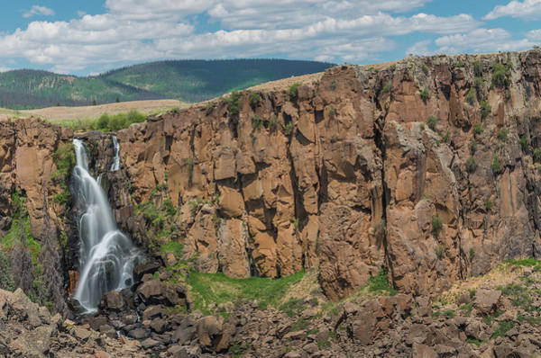 Photograph - North Clear Creek Falls, Creede, Colorado 2 by Adam Reinhart