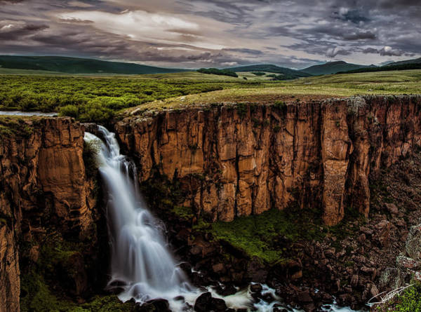 Photograph - North Clear Creek Falls by Jeff Niederstadt