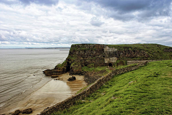 Photograph - North Coast Railway At Mussenden Temple by Colin Clarke