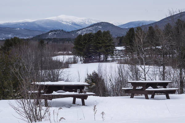 Photograph - North Conway Winter Mountains by Toby McGuire