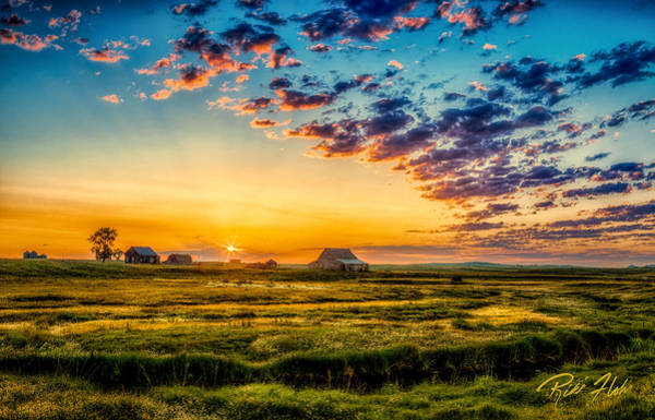 Photograph - North Dakota Pastoral by Rikk Flohr