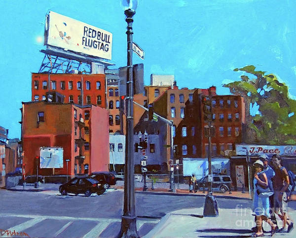 Painting - North End Morning by Deb Putnam