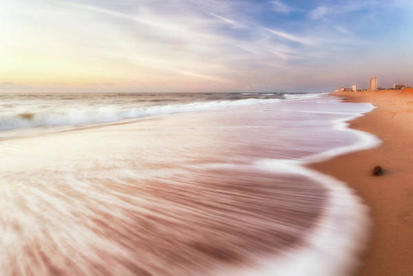Photograph - North End Virginia Beach Sunrise Seascape by Lisa McStamp