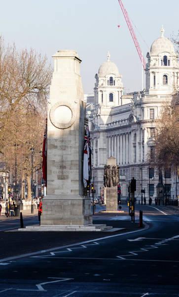 Photograph - North Facade Of Cenotaph War Memorial Whitehall London by Jacek Wojnarowski