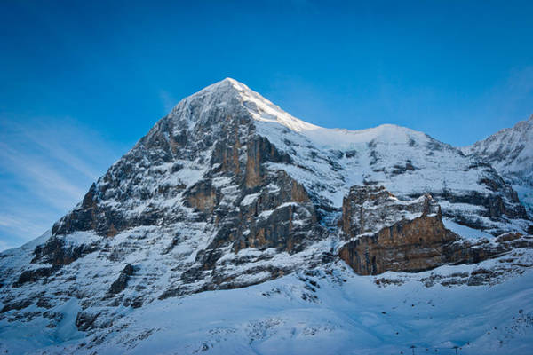 Rock Face Photograph - North Face by Thorsten Scheuermann