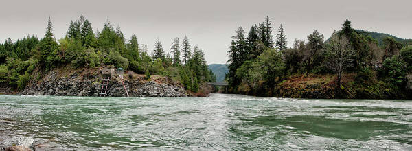 Wall Art - Photograph - North Fork And Middle Fork Of Smith River by Betty Depee