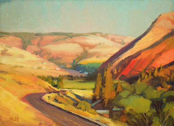 Sunday Painting - North Fork Touchet by Steve Henderson