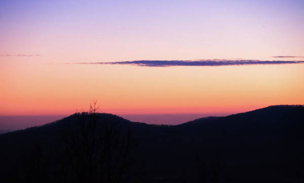 Photograph - North Georgia Mountains At Twilight by Andrea Anderegg