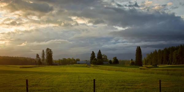 Photograph - North Idaho Sunrise by Albert Seger