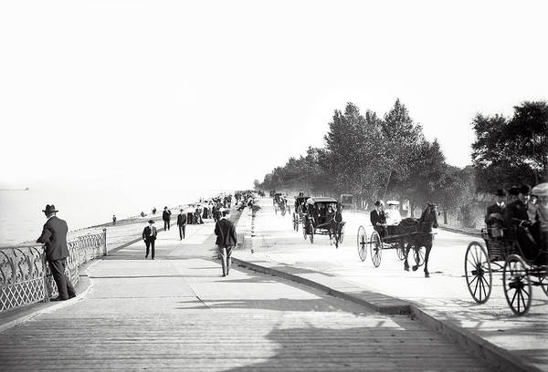 Wall Art - Photograph - North Lake Shore Drive - Chicago 1905 by Daniel Hagerman
