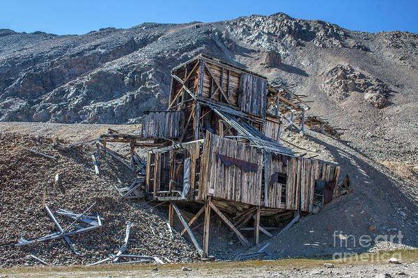 Photograph - North London Mine by Tony Baca