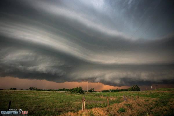 Photograph - North Platte Nebraska July 2017 by Nathan Moore
