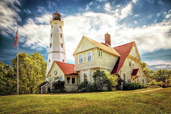 Photograph - North Point Lighthouse by Susan Rissi Tregoning