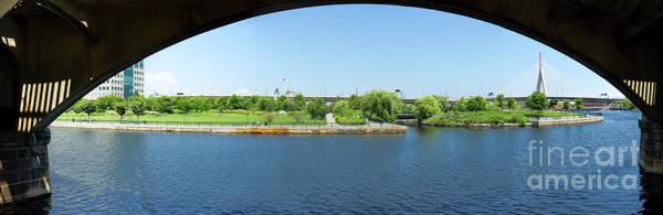 Photograph - North Point Park And Zakim Bridge, Boston Ma #30966-75 by John Bald
