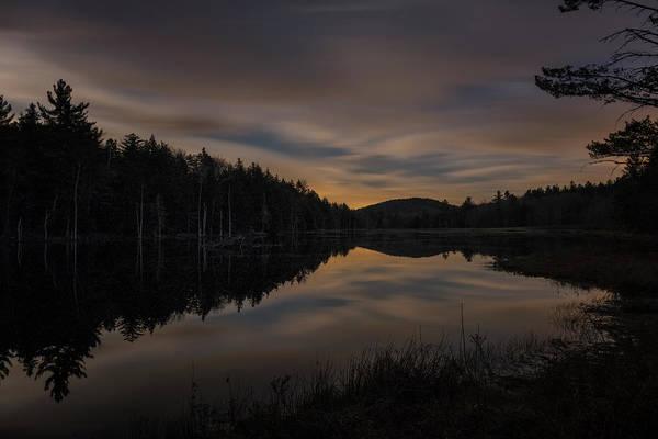 Photograph - North Pond Road Twilight by Tom Singleton
