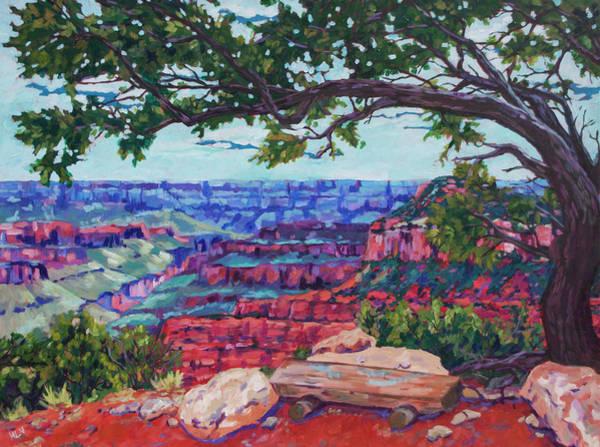 North Rim Edge Art Print